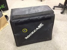Warwick Rockcase Details: Used for fixing a power amp and potentially a small FX/EQ/Compressor/Gate rack. Good for keeping gear safe and unexposed to elements. Price available on request.
