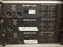 Crest Audio 6001 Power Amp Details: Channel B is Faulty, however a generally well working power amp - http://www.peaveycommercialaudio.com/media/pdf/6001_4-9-97.pdf Crest Audio 7001 Power Amp Details: Channel A is faulty, however still a good power amp which packs a punch - http://www.peaveycommercialaudio.com/media/pdf/7001_3-25-97.pdf Both can be bought together for a low price. CREST AUDIO 4801 HAS BEEN PURCHASED.
