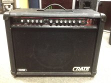 Crate GX 100s Details: Fully functional guitar amp, slight fault in channel selection. Price available on request.