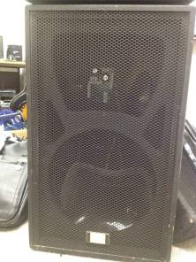 """Fame MT-15 Cases Details: Two Pieces available. 300W/8Ohm, 15"""" Top speaker, requires new cone and tweeters on both. Circuitry is all there. Prices available on request."""