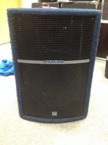 """Pulse PL 12 Details: 12"""" Speaker, tweeter is defective. Price available on request"""